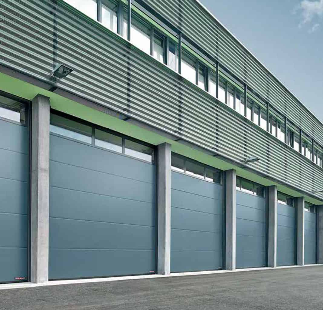 High Quality Commercial garage doors
